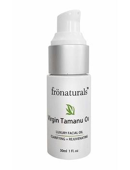 Extra Virgin Pure Tamanu Oil  (Cold Pressed / Unrefined). Healing Oil For Acne Scars, Stretch Mark, Eczema   1 Oz(1 Fl.Oz 30ml.) Frönaturals Canada (1.0oz (30ml)) by Amazon