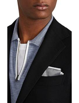 Basket Weave Wool Two Button Sportcoat by Ring Jacket