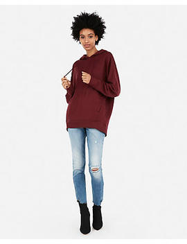 Express One Eleven Oversized Fleece Hoodie by Express