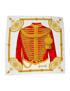 Brandebourgs Silk Scarf by Hermès