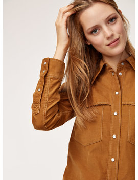 Kaila Blouse   Button Down Corduroy Shirt by Wilfred Free