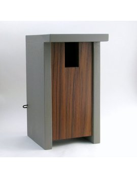 Birdhouse Modern Minimalist  The Bird Box by Etsy