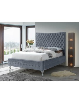Everly Quinn Kellems Upholstered Panel Bed by Everly Quinn