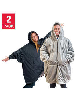 The Comfy Hooded Blanket/Sweatshirt, 2 Pack ** Free Shipping ** by Ebay Seller