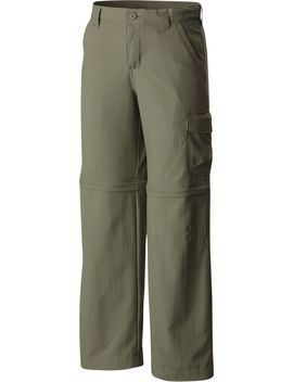 Columbia Boys' Silver Ridge Iii Convertible Pant by Columbia