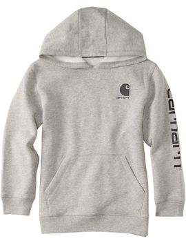 Carhartt Boys' Logo Fleece Hoodie by Carhartt
