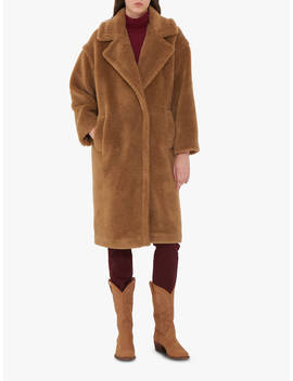 Gerard Darel Faux Fur Miranda Coat, Brown by Gerard Darel