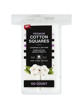 Walgreens Beauty Premium Cotton Squares100.0 Ea by Walgreens