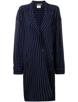 1980's Striped Coat by Fendi Vintage