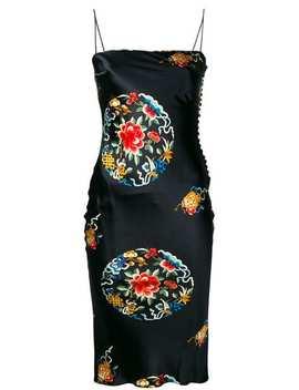 Printed Midi Dress by Christian Dior Vintage
