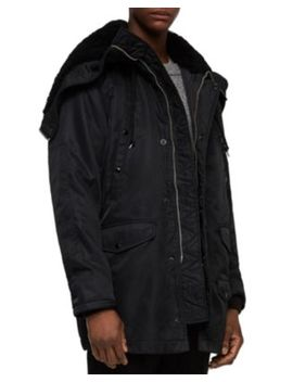Garth Parka With Shearling? Lined Hood by Allsaints