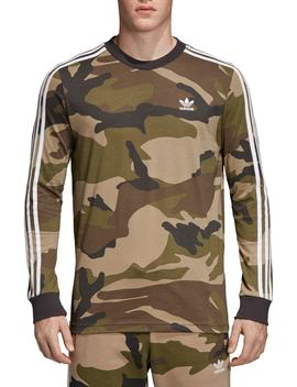 Camo Long Sleeve T Shirt by Adidas Originals