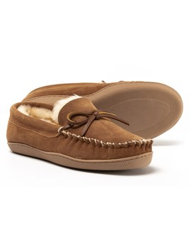 Clarks Suede Moccasins   Shearling Lined (For Women) by Clarks