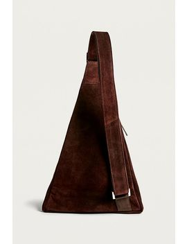 Uo Suede One Shoulder Backpack by Urban Outfitters