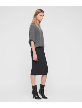 Deon Mix Dress by Allsaints