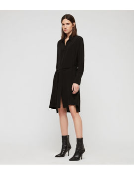Anya Shirt Dress by Allsaints