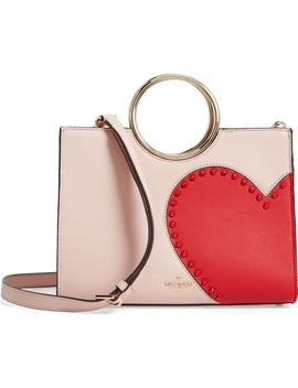 Heart It   Sam Leather Satchel by Kate Spade New York