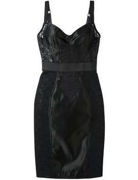 Vestido Com Recorte Em Renda by Dolce & Gabbana