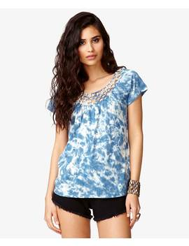MacramÉ Tie Dye Tee by Forever 21