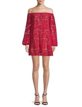 Precioso Off The Shoulder Mini Dress by For Love & Lemons