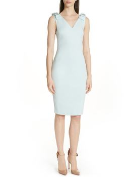 Belliah Bow Shoulder Body Con Dress by Ted Baker London