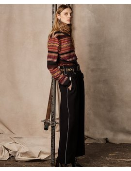 Cashmere Wool Crewneck Sweater by Ralph Lauren
