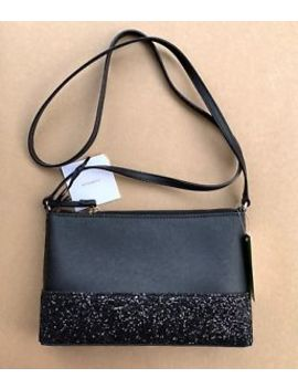 Kate Spade Greta Court Ramey Crossbody Black Glitter Bag Holiday Purse Nwt by Kate Spade New York