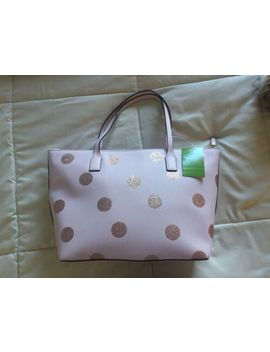 Kate Spade Pink Glitter Dot Tote Handbag New With Tags by Kate Spade