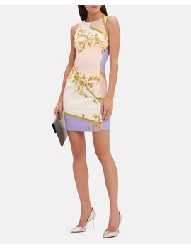 Printed Shift Dress by Versace Collection