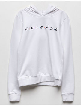 Friends White Girls Hoodie by Friends