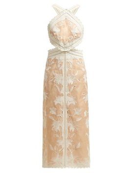 Corsage Lily Halterneck Dress by Zimmermann