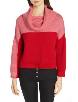 Bryant Colorblock Sweater by Alice + Olivia