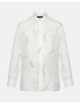 Classic Straight Shirt by Theory