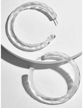 Heidy Lucite Hoop Earrings by Baublebar
