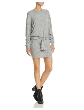 Addison Tie Front Sweatshirt Dress by Splendid