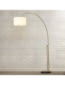 "Wade Logan Phoebe 84"" Arched Floor Lamp & Reviews by Wade Logan"