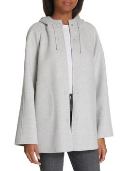 Hooded Double Face Jacket by Nordstrom Signature