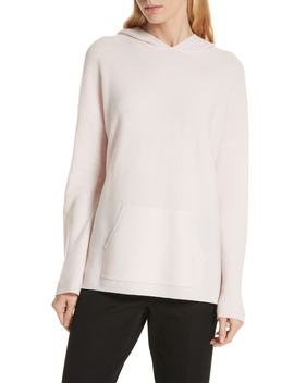 Cashmere Pocket Hoodie Sweater by Nordstrom Signature