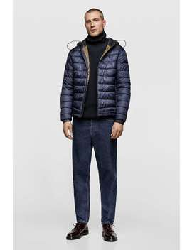 Sorona ® Dupont™ Puffer Jacket  All Timeman Corner Shops New Collection by Zara