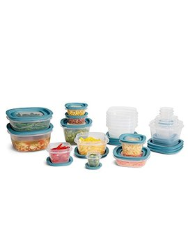 Rubbermaid Flex & Seal Food Storage Container Set With Easy Find Lids 42 Piece Set by Rubbermaid