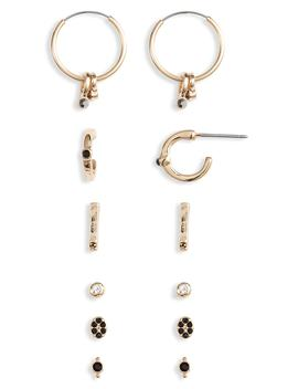 6 Pack Earrings by Treasure & Bond