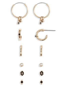 6 Pack Earrings by Treasure & Bond