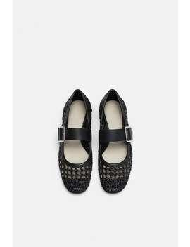 Woven Ballet Flats  Starting From 70 Percents Offwoman Sale by Zara