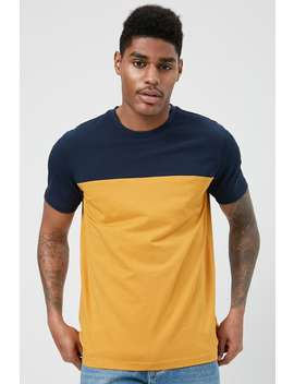 Colorblock Yoke Tee by Forever 21
