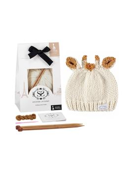 Baby Hat Knitting Kit by Sophie La Girafe