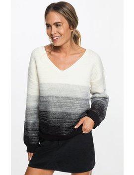 Roxy Beach V Neck Sweater by Pacsun