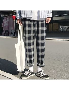 Odin King   Plaid Straight Cut Pants by Odin King