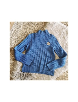 Ralph Lauren Vintage Crest Cable Knit Turtleneck by Lauren Ralph Lauren