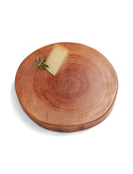Acacia Log Slice Tray by Treasure & Bond