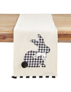 "Gingham Bunny 108"" Table Runner by Pier1 Imports"